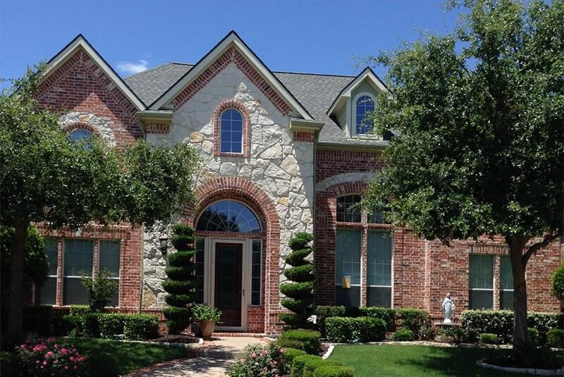 Plano Texas Shingle Roofing replaced by Concord Roofing & Construction