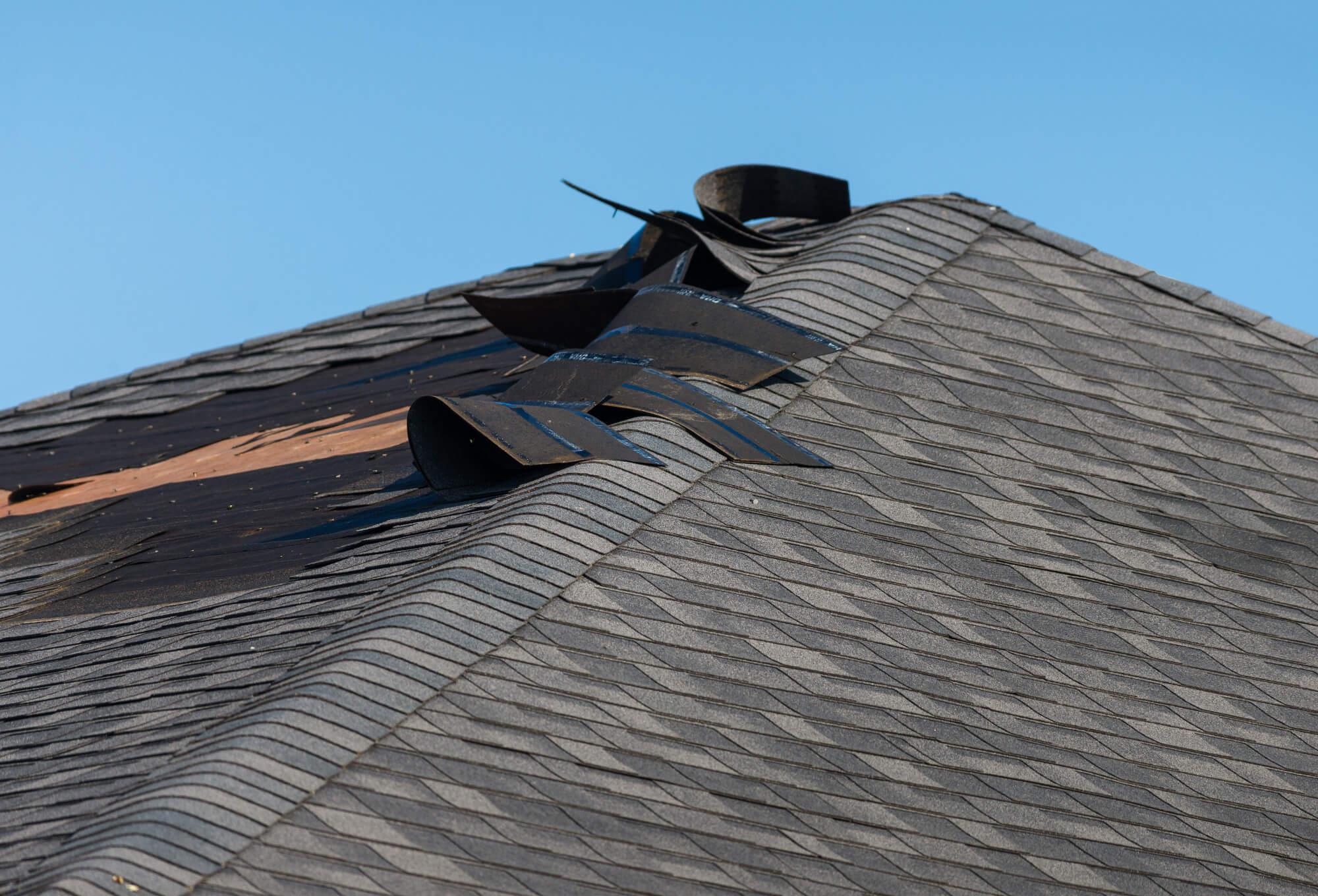 roof damages