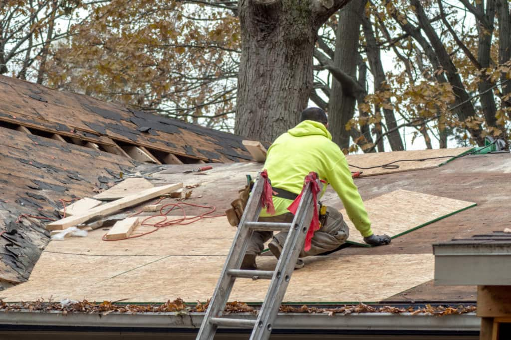 Home Roof Replacement After Storm