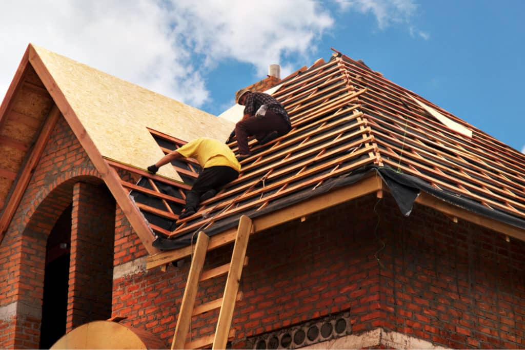 New Roof Construction in Dallas DFW