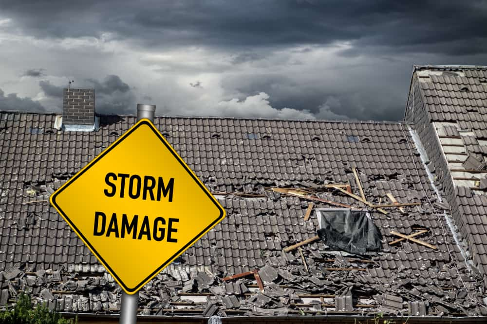 Storm Damage Roof Repair and Replacement North Texas