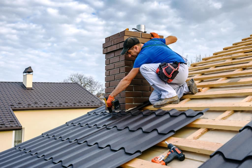 Framing a Roof Replacement in Dallas