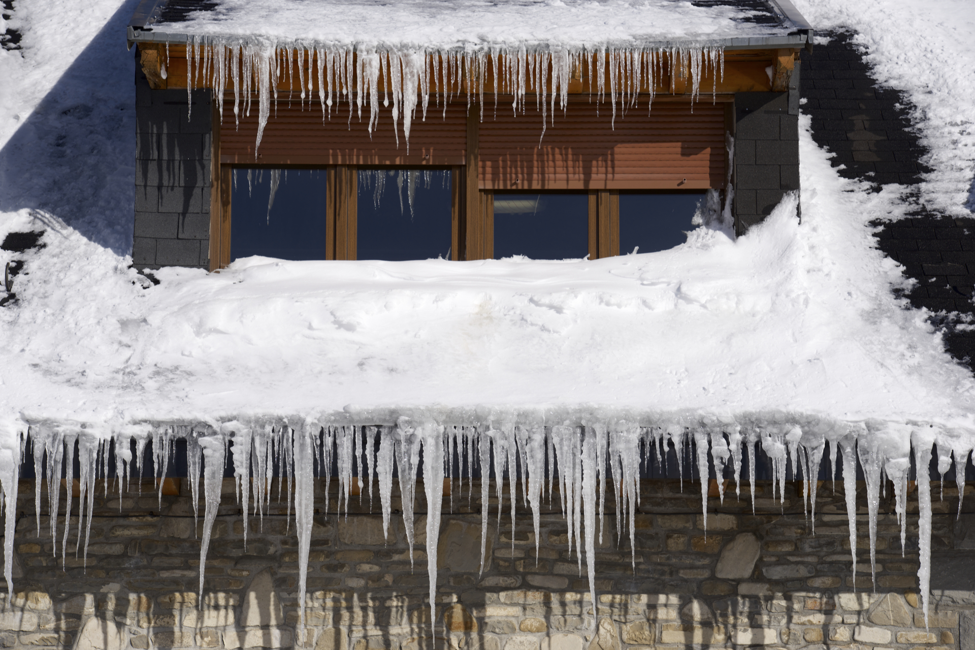 Winter Storm Roof Damage Repair Dallas DFW